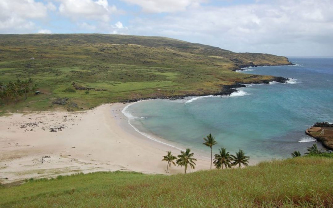 Visit Virtually Anakena, Eastern Island